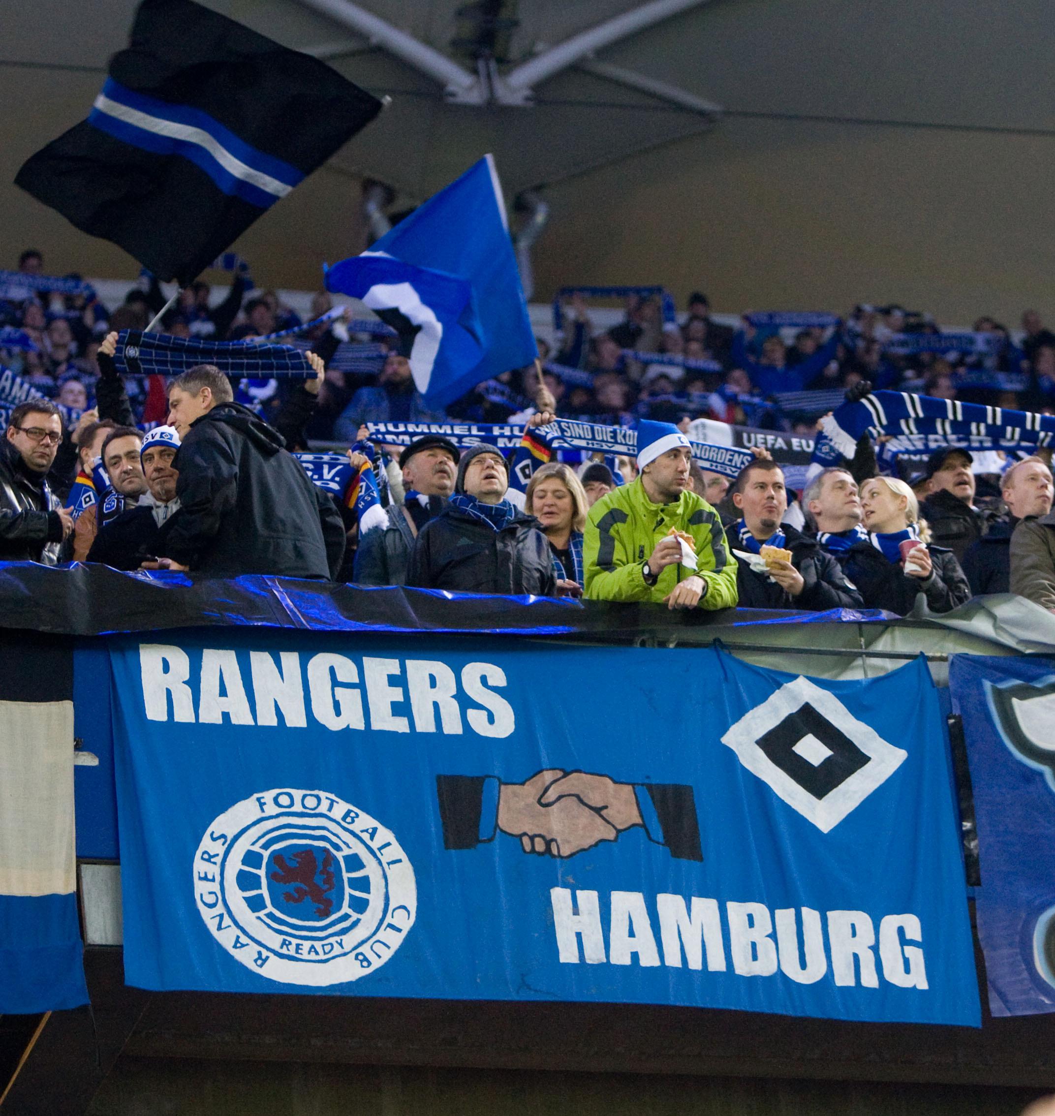 Hambourg sv & Glasgow Rangers, une amitié officialisée