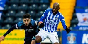 """""""J'ai toujours cherché à jouer au meilleur niveau possible"""" : Diaguely Dabo, Kilmarnock (D1 écossaise)"""