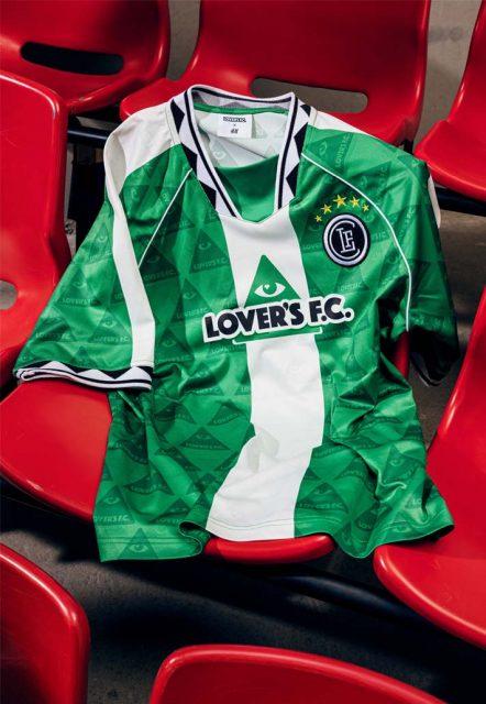 H&M dévoile ses maillots grâce au Lover's FC