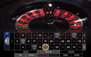 Live Football Roulette: quand le football s'invite dans le live casino