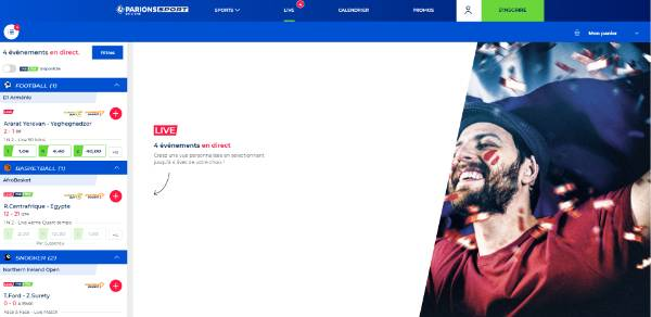 PKFoot |  Parions Sport promo code