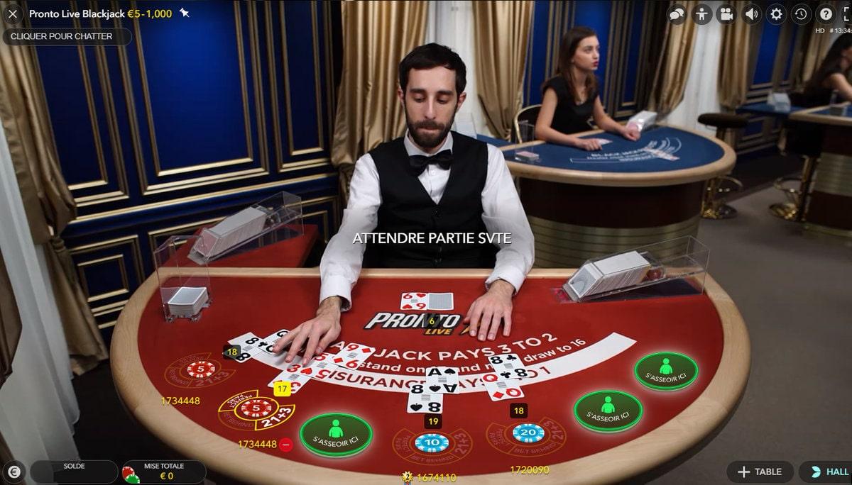 Quel est le meilleur casino en ligne pour jouer au blackjack ?